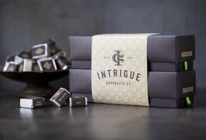 שוקולד באריזה מעוצבת
